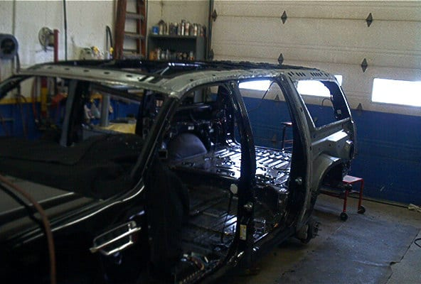 Escalade Before